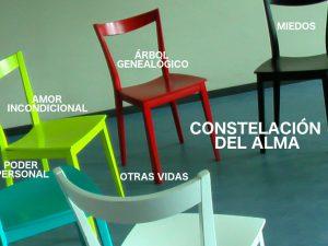 sillas, representant conceptos de la constelación