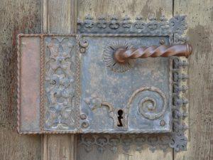 cerradura, símbolo de oculto